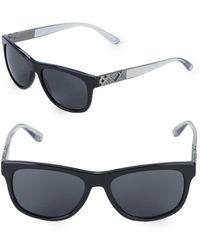 Burberry - 57mm Square Sunglasses - Lyst