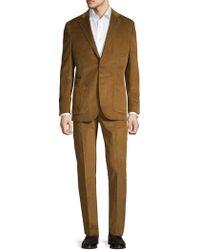 Michael Bastian - Textured Corduroy Suit - Lyst