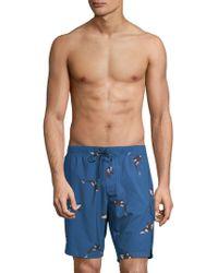 Sovereign Code - Printed Swim Shorts - Lyst