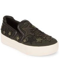 Ash - Jeday Embroidered Platform Sneakers - Lyst