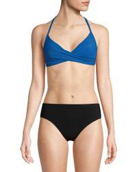 Red Carter - Swim Twisted Bikini Top - Lyst