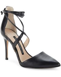French Connection - Elise Strappy Point Toe Court Shoes - Lyst