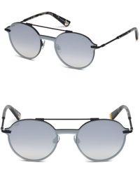 Web - Round Frame Sunglasses - Lyst