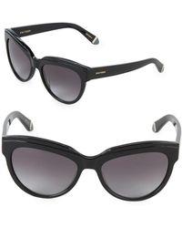 Zac Posen - Tennille 56mm Square Sunglasses - Lyst