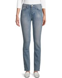 3x1 - Slim-fit Pillars Shelter High-rise Jeans - Lyst