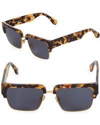Sunday Somewhere - Little God 55mm Clubmaster Sunglasses - Lyst