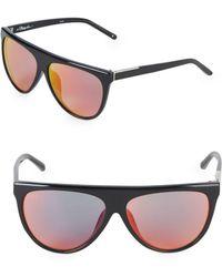 3.1 Phillip Lim - 62mm Aviator Sunglasses - Lyst