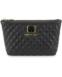 Love Moschino - Bustina Quilted Pouch - Lyst