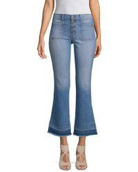 ei8ht dreams - Flared Stretch Jeans - Lyst