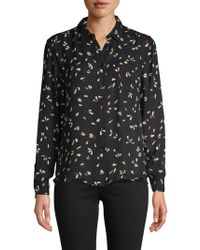 Philosophy By Republic - Printed Button-down Shirt - Lyst