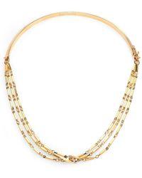 Eddie Borgo - Peaked Chain Necklace - Lyst
