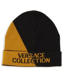 7fa04d15 Versace Ee8gsbkk2 Ey6a 899+937 Black/gold Gold Gothic Vj Cap in ...