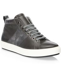 Saks Fifth Avenue - Camouflage Web High-top Sneakers - Lyst
