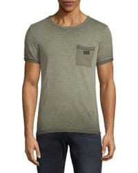 Scotch & Soda - Oil-washed Cotton Tee - Lyst