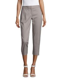 Vince Camuto - Cropped Trousers - Lyst