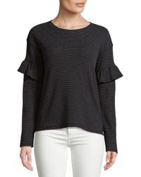 Marc New York - Textured Top - Lyst