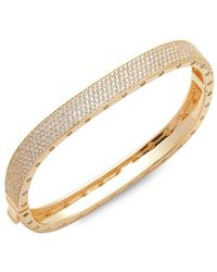 Saks Fifth Avenue - Cubic Zirconia Bangle Bracelet - Lyst