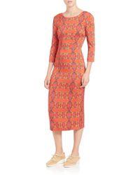 SUNO - Stretch-silk Backless Dress - Lyst
