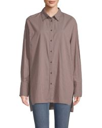 Free People - Lake House Cotton Shirt - Lyst