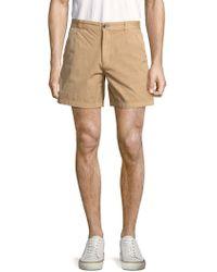 Original Paperbacks - Solid Cotton Shorts - Lyst