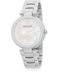 Versace - Stainless Steel Bracelet Watch - Lyst