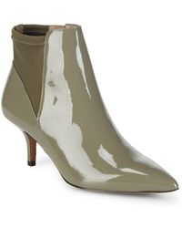 Donald J Pliner - Patent Point Toe Booties - Lyst