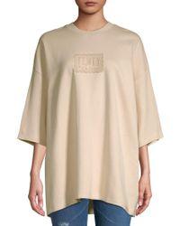 PUMA - Oversized Quarter-sleeve Tee - Lyst