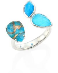 Ippolita - 925 Rock Candy Turquoise Open Ring - Lyst