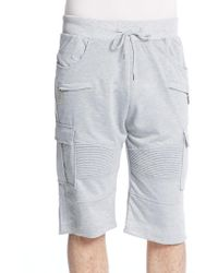 American Stitch | Moto Terry Cargo Shorts | Lyst