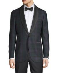 Eidos - Plaid Wool Jacket - Lyst