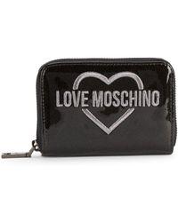Love Moschino - Logo Zip-around Wallet - Lyst