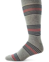 Saks Fifth Avenue - Collection Striped Mid-calf Socks - Lyst