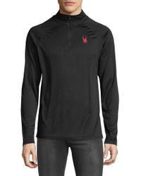 Spyder - Performance Quarter-zip Shirt - Lyst
