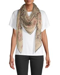 Valentino - Butterfly-print Scarf - Lyst