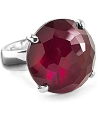 Ippolita - Wonder Sterling Silver Faceted Solitaire Ring - Lyst