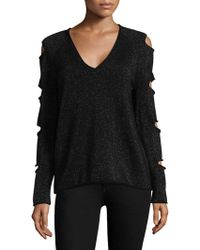 Skull Cashmere - Exclusive Tyrone Slash Sleeve Jumper - Lyst