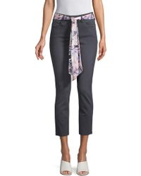 NYDJ - Slim-fit Ankle Jeans - Lyst