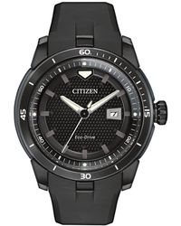 Citizen - Eco-drive Stainless Steel Ion Plated Ecosphere Strap Watch - Lyst