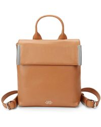 Vince Camuto - Small Leather Backpack - Lyst