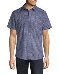Slate & Stone - Printed Short-sleeve Button-down Shirt - Lyst