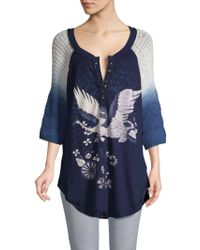 Free People - Tranquility Cotton Top - Lyst