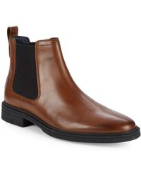 Cole Haan - Bernard Leather Chelsea Boots - Lyst