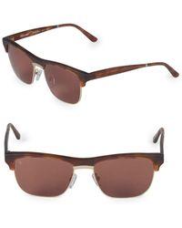 03bcf5008aa0 Smoke X Mirrors - 53mm Uncle Albert Rectangular Sunglasses - Lyst