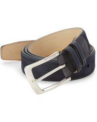 Mezlan - Antelux Leather Belt - Lyst