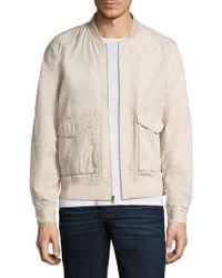 Joe's Jeans - Cotton Bomber Jacket - Lyst