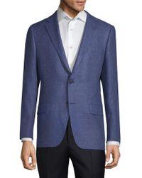 Hickey Freeman - Milburn Ii Wool And Linen Sports Jacket - Lyst