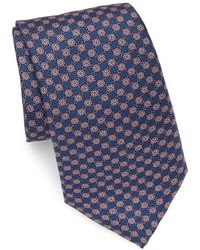 Saks Fifth Avenue - Floral Link Silk Tie - Lyst