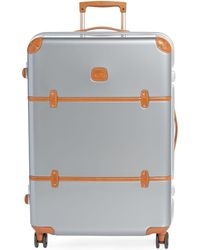 """Bric's - 30"""" Leather-trimmed Spinner Suitcase - Lyst"""