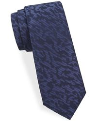 Saks Fifth Avenue - Camouflage-print Silk Tie - Lyst