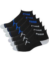 PUMA - 6-pack Terry Low-cut Socks - Lyst